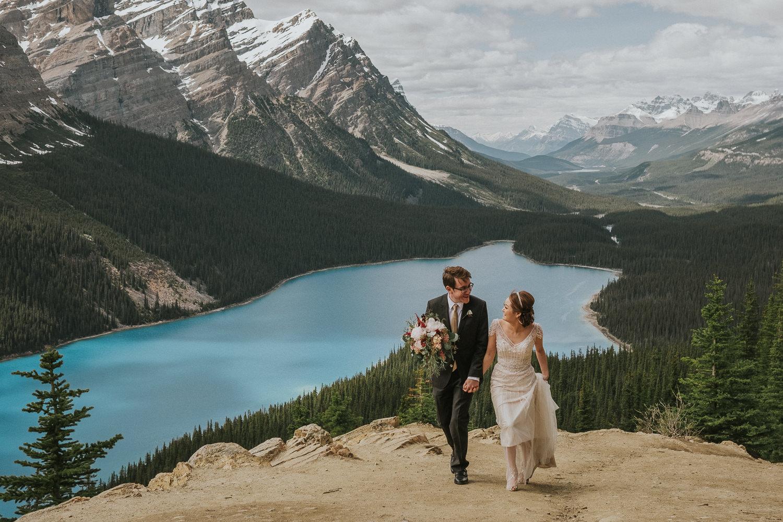 Peyto Lake Wedding