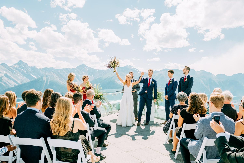 Banff Gondola Wedding