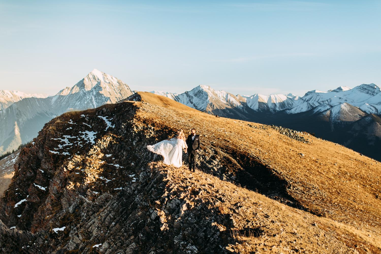 Elopement Photographer Banff