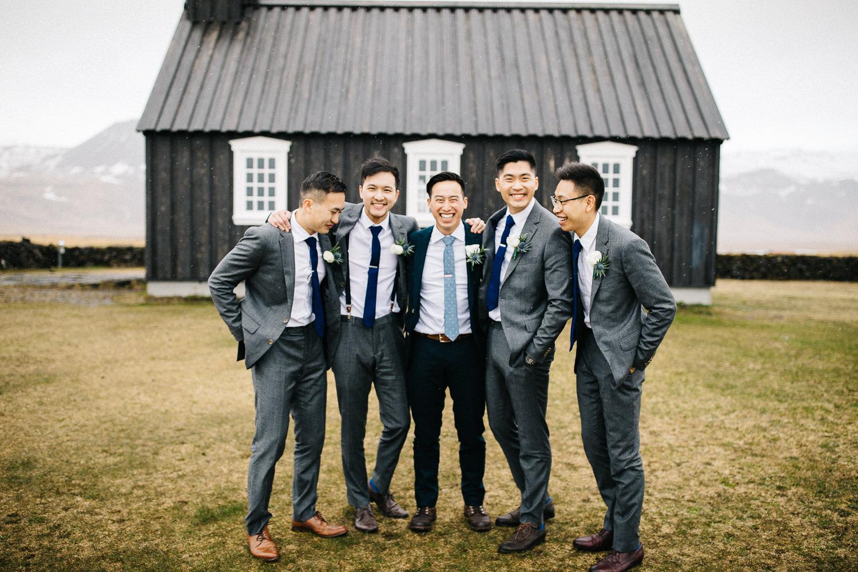 Buoakirkja Wedding