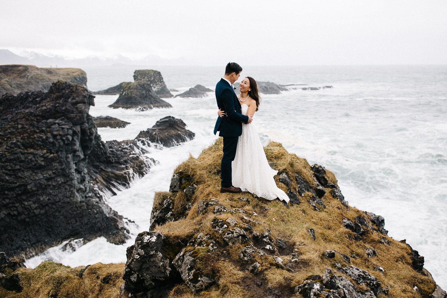 Elopement in West Iceland