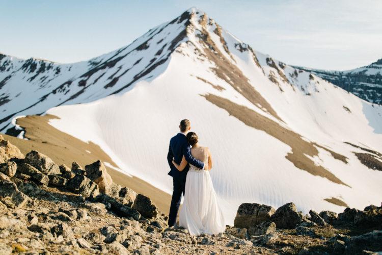Helicopter Wedding Banff