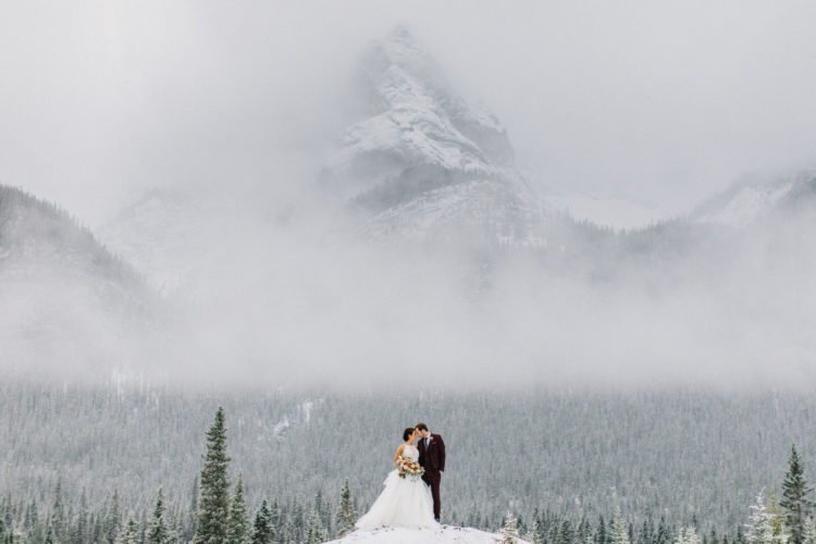 Winter Wedding Banff